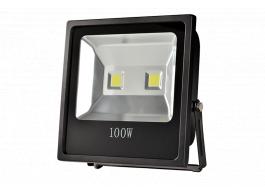 LED Flood Light in Black